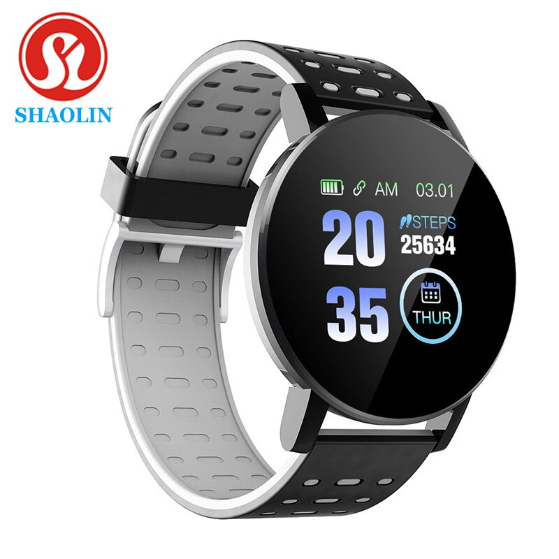 SHAOLIN Smart Band Blood Pressure Heart Rate Monitor Fitness Tracker Smart Fitness Bracelet Remote C