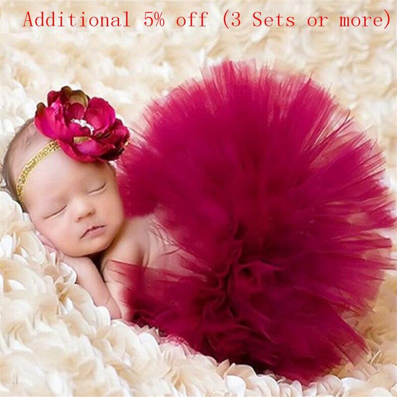 Реквизит для фотосессии новорожденных; Костюм для младенцев; Юбка-пачка принцессы для малышей; Реквизит для фотосессии новорожденных