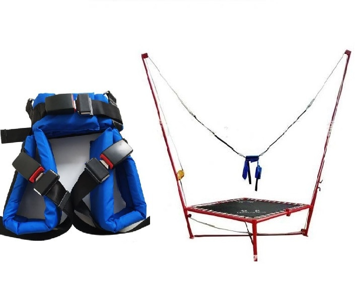 Kids Adults Safety Belt Children Bungee Rope Jumping Trampoline Harness