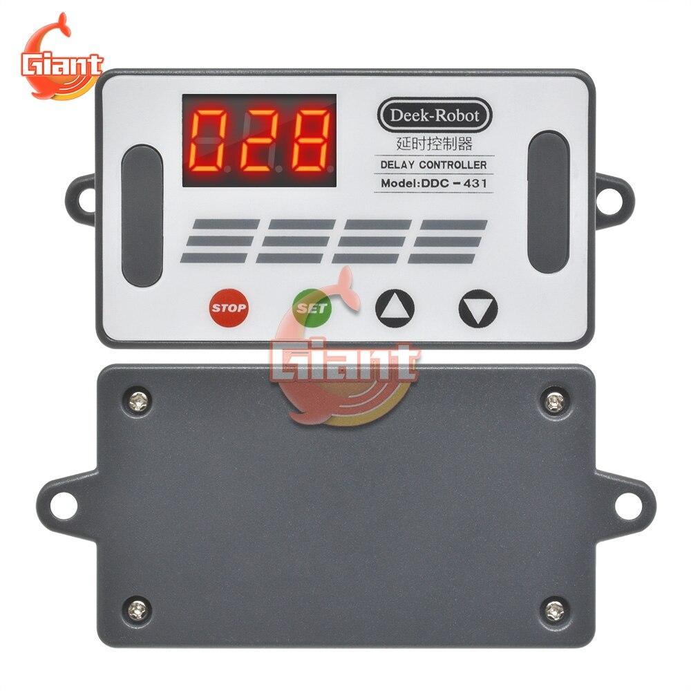 Interruptor de relé de retardo de tiempo de DDC-431, relé de muestra...