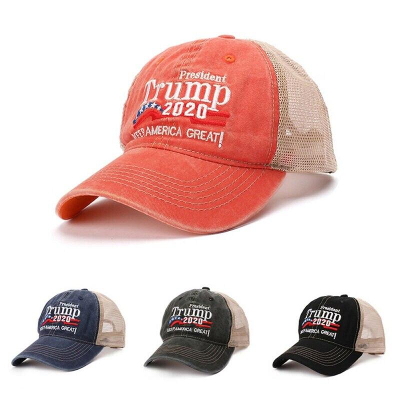 President Donald Trump New Support Trump Caps 2020 USA Baseball Cap Hat Make America Great Again Baseball Caps Haps