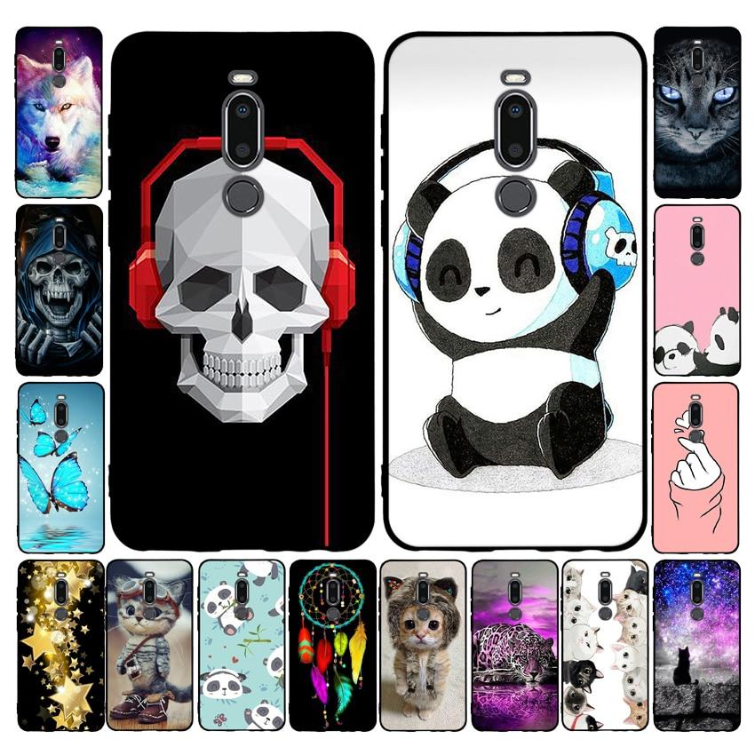 5.7'' For Meizu M8 Case Fashion Space silicone Soft TPU Back cover For Meizu M8 Case M 8 8M Phone cases Coque Funda for MeizuM8