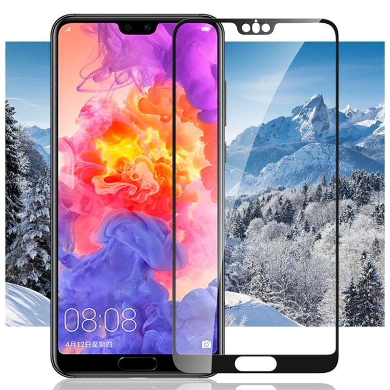 Funda de vidrio templado para Huawei P20 P10 Lite Pro Mate 20 10 Lite P Smart Plus cristal protector en Honor P 20 10 P20lite P10lite 9h