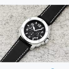 Quartz Men Watch Luxury Top Brand AAA Quartz Watch Men Leather Strap Sports Clock Crystal Mirror Rel