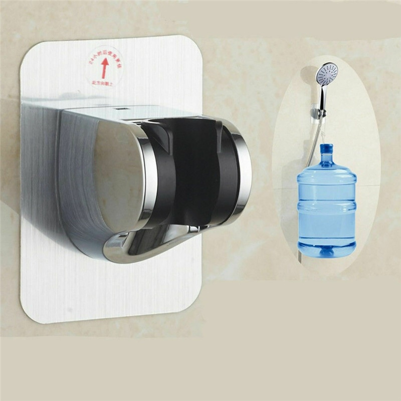 Soporte de cabeza de ducha de succión fuerte de mano autoadhesivo ajustable montado en la Pared Soporte de ducha de baño de mano