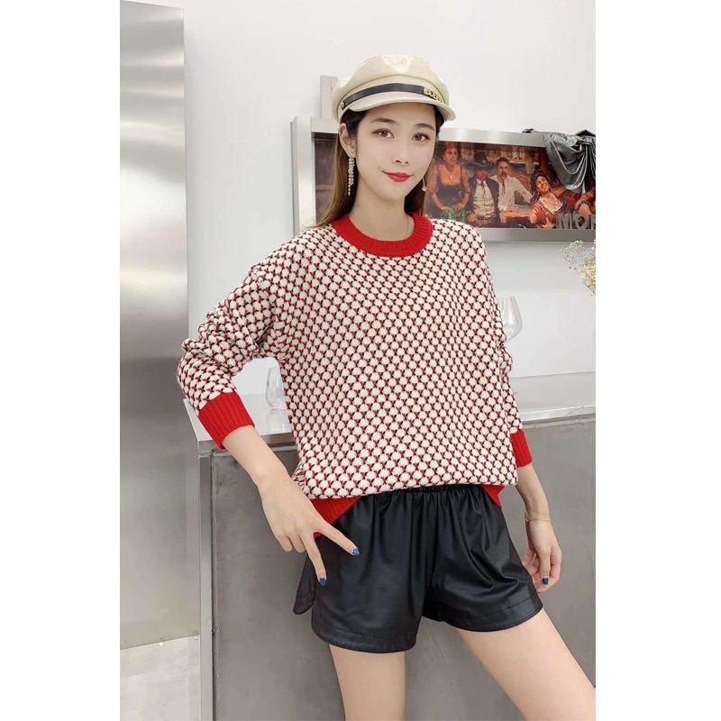 Autumn Winter Thick Sweater Women Knitted Pullover Sweater Long Sleeve o-neck Slim Jumper Soft Warm Sweater woman sweaters enlarge