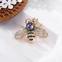 high grade design insect brooch womens exquisite little bee brooch crystal rhinestone brooch girl jewelry gift