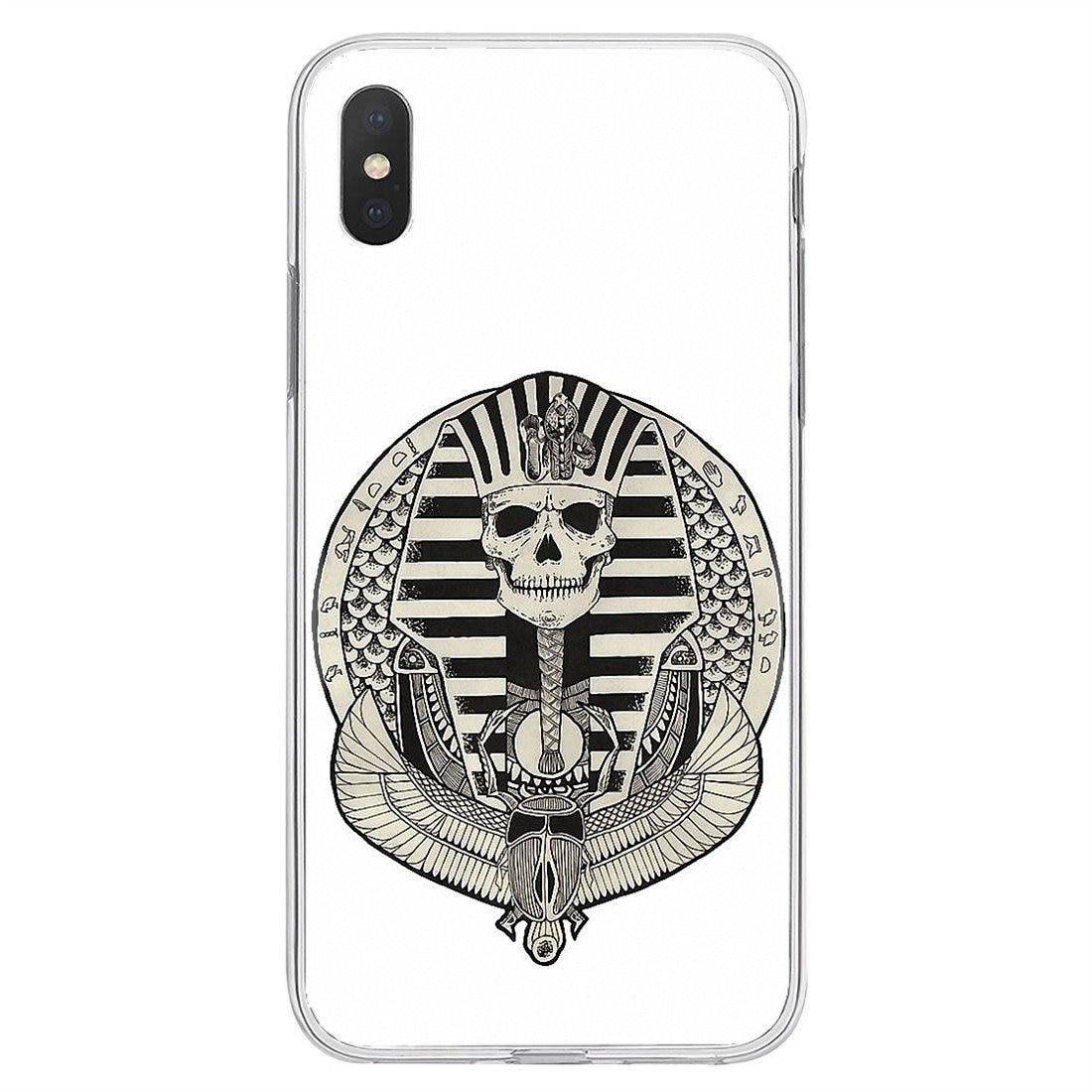 For Xiaomi Redmi 4A S2 Note 3 3S 4 4X 5 Plus 6 7 6A Pro Pocophone F1 Egypt Nefertiti Anubis Ankh Pharaoh Silicone Phone Bag Case