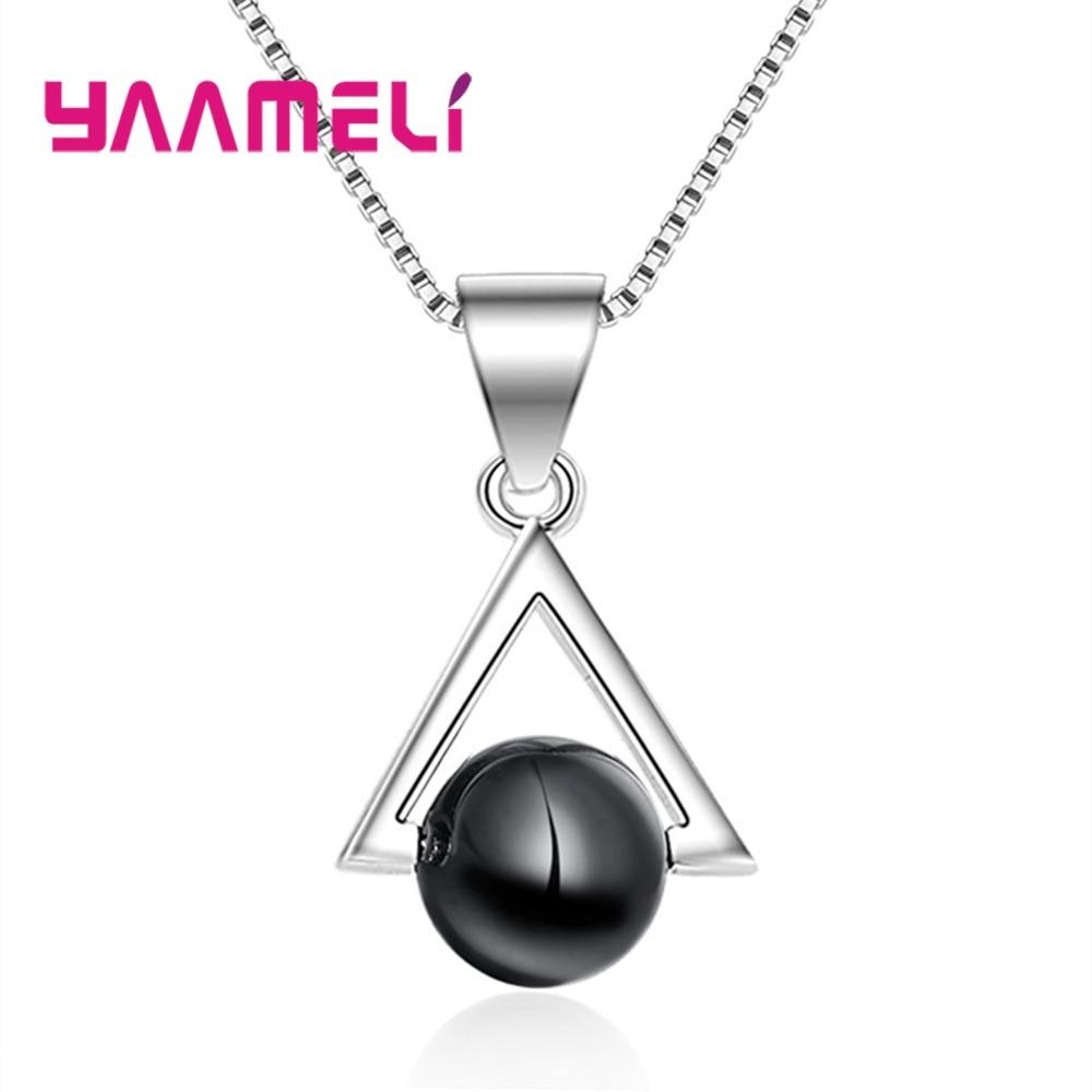 Очаровательное-ожерелье-с-подвеской-в-виде-треугольника-из-черного-стекла-ювелирные-изделия-подарки-для-женщин-для-мам-солидное-серебро