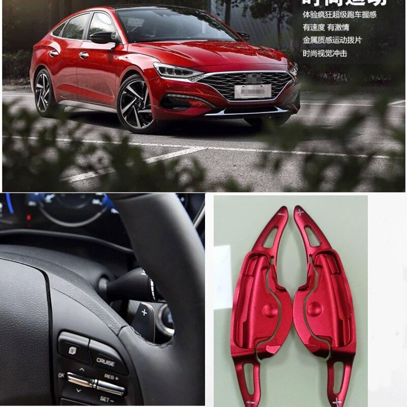 2 uds volante DSG Shift Paddle Shifters extensión aluminio para Hyundai LA FESTA 2019
