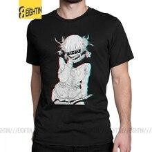 Toga Himiko Tees The Crazy Villain Waifu Anime Manga Kawaii T Shirt Men Summer Clothes Vintage T-Shirt Crewneck Cotton