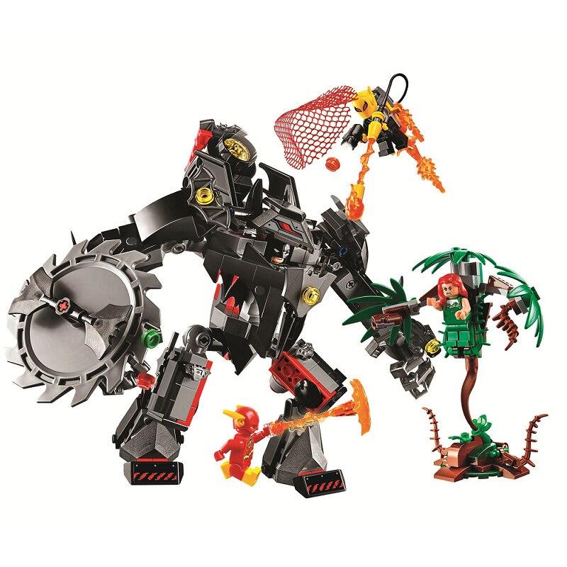 Bela 11234 superhéroe 419 Uds Batman Mech modelo de construcción de juguetes para niños regalo para niños juguetes compatibles con Legoinglys