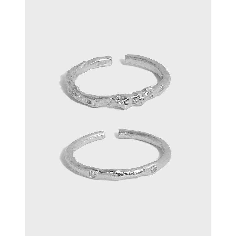 Реальные-925-пробы-серебристый-неправильной-формы-Открытие-Кольца-для-женщин-хорошее-ювелирное-изделие-настоящее-2021-элегантный-кубически