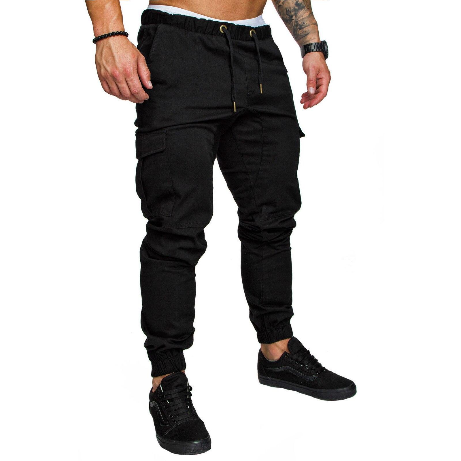 Мужские мешковатые брюки, повседневные эластичные мужские брюки на шнуровке, мужские брюки с открытым сиденьем, мужские брюки, 2021