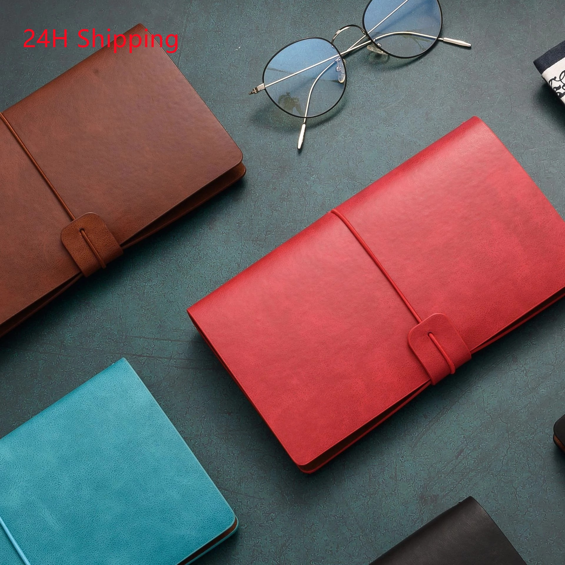 AliExpress - A6 Retro notebook diary notepad vintage PU leather notebook replaceable stationery gift traveler's diary planner dropshipping