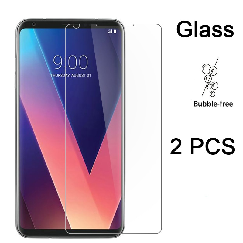 2pcs Phone Protective Film for LG Q Stylo 4 G8 G7 G6 G5 SE Glass Screen Protector Tempered Glass for