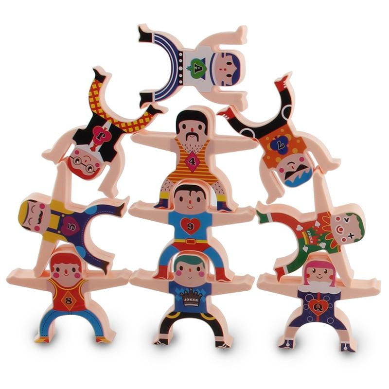Children's Hercules Jenga Building Blocks Parent-child Stacking High Game Balanced Stacking Arhat Indoor Decompression Toys enlarge