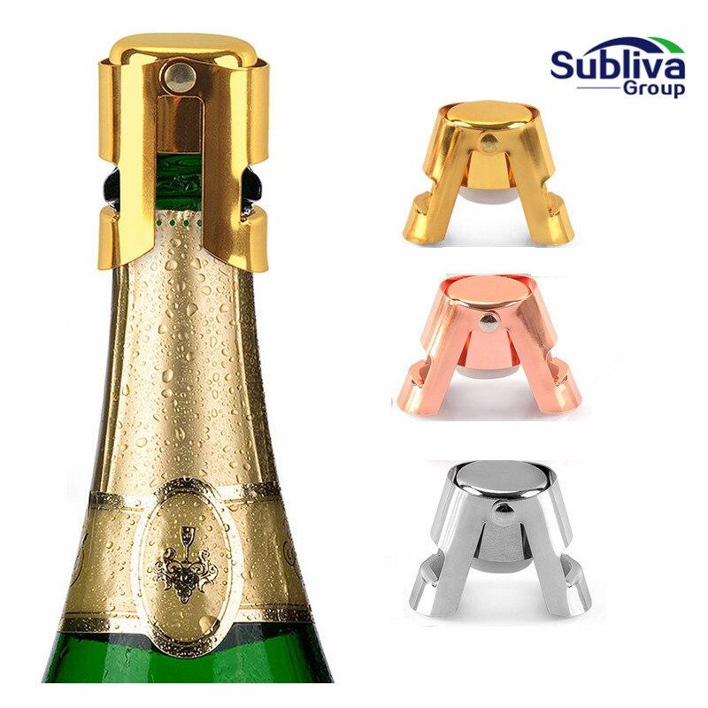 Пробка для бутылки шампанского из нержавеющей стали, портативный герметик для вина, пробка для вина, колпачок для шампанского