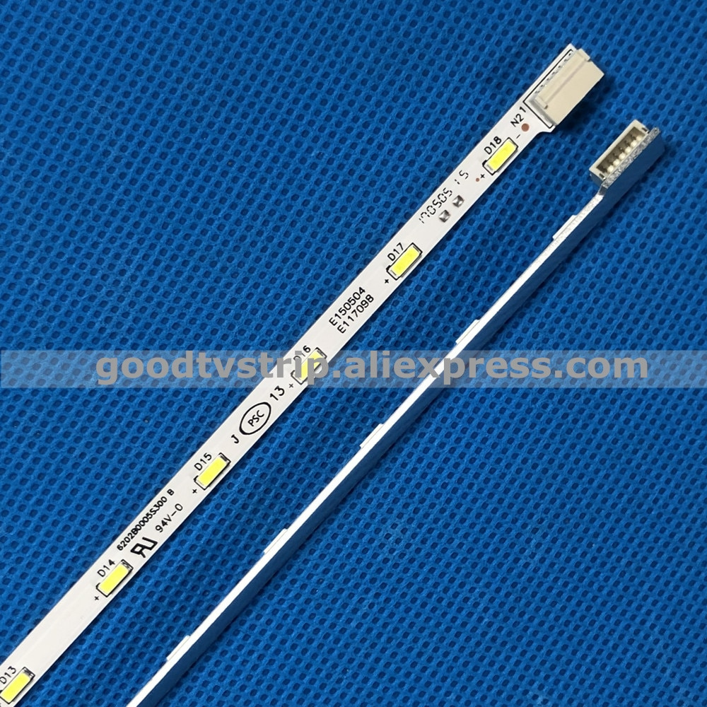Новинка; 2 шт./партия 18 светодиодный 307 мм светодиодный подсветка полосы для 24E510E 24E600E V236B1-LE2-TREM11 V236BJ1-LE2