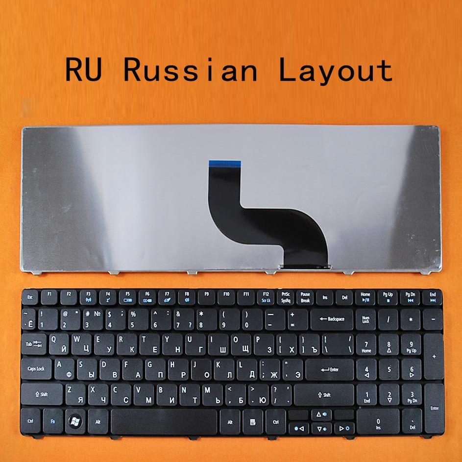 Ruso RU repuesto nuevo teclado para ACER Aspire 5810T 5810TG 5810TZ 5810TZG...