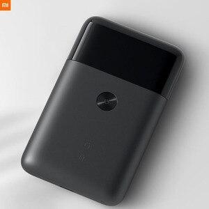 Image 5 - Новейшая электрическая бритва Xiaomi Mijia с двойным лезвием, водонепроницаемая портативная мини бритва с ультра низким уровнем шума и зарядкой типа с