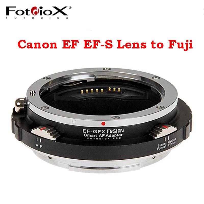 Fotodiox EF-GFX عدسة خاتم محول AF التبديل A/P وضع لكانون EF EF-S عدسة ل فوجي فوجي فيلم GFX كاميرا ل GFX 50R GFX50S