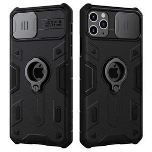 Image 2 - Защитный чехол для камеры iPhone 11 Pro Max Ring stand, чехол NILLKIN Slide для iPhone 11 6,5, 2019, чехол для iPhone 11 Pro