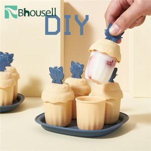Набор креативных форм для мороженого, милая домашняя форма для мороженого, сделай сам, форма для приготовления льда, холодные напитки для ку...