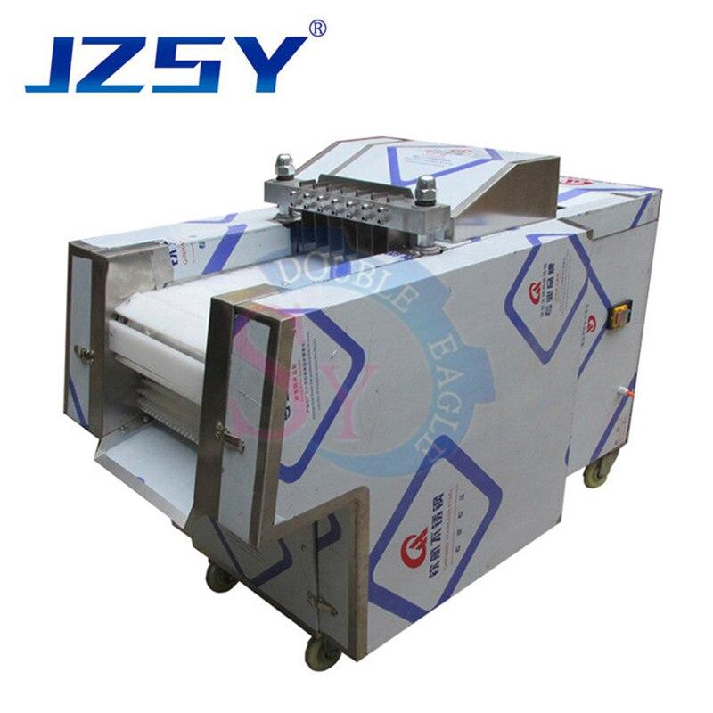 Jzsy comercial automático mais fresco carne de porco frango inteiro pato ganso máquina de corte carne congelada/peixe vaca costelas cortador carne slicer
