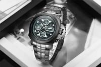 goldenhour business mens mens mechanical watch luxury diver watch luminous