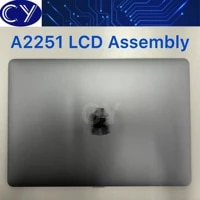 new grey space gray 2020 year a2251 lcd display assembly for macbook pro retina 13 3 lcd screen assembly