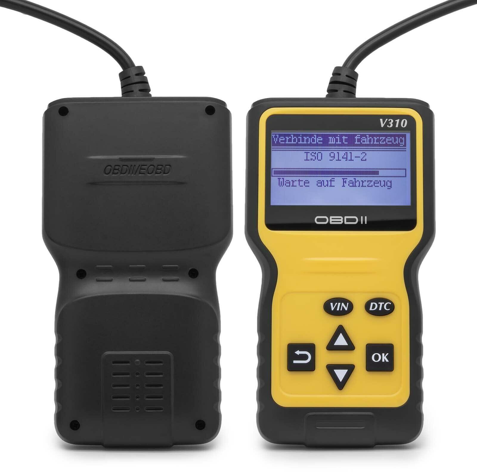 Lector de código V310 escáner V1.1 comprobar falla del motor V310 herramienta de diagnóstico de sonda de velocidad del coche V310 escáner de código V310 OBD2 escáner