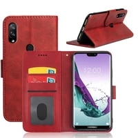 mks flip case for doogee n10 cover luxury wallet pu leather phone case with id card slot