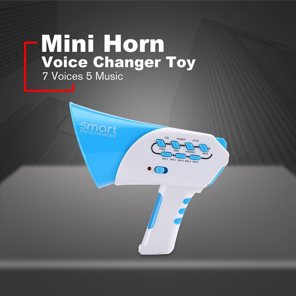 Волшебный преобразователь голоса Многоканальная система преобразователь голоса интеллект портативный динамик 7 звуки 5 Музыкальный детск...
