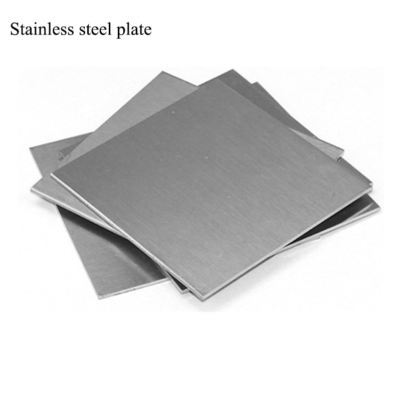1pcs colorful foil plants 1pcs 0.01-3mm 304 Stainless steel skin/plate/Thin Steel Plate/Thin Plate Sheet Foil/Stainless steel foil