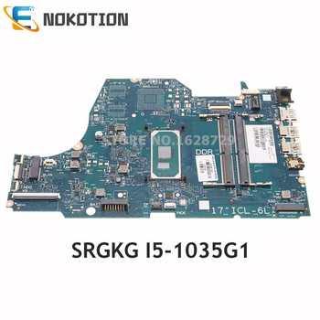 NOKOTION L87451-001 L87451-601 SNAPE01-6050A3168901-MB-A02 For HP 17-BY Laptop Motherboard SRGKG I5-1035G1 CPU DDR4