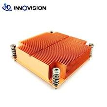 Nouveau refroidisseur CPU LGA2011 dissipateur thermique passif carré pour Intel®Xeon®Séries E5-1600, E5-2600 et E5-4600