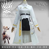 anime arknights carnelian battle suit elegant uniform cosplay costume halloween party role play clothing for women 2021 new