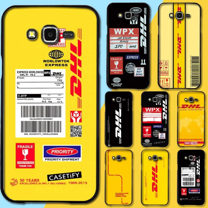 PENGHUWAN DHL Express de lujo diseño único de la cubierta del teléfono para Samsung Galaxy J7 J8 J3 J4 J5 J6 Plus 2018