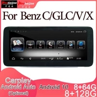 android 10 car multimedia dvd stereo radio player gps navigation carplay auto for mercedes benz cglcxv 2din