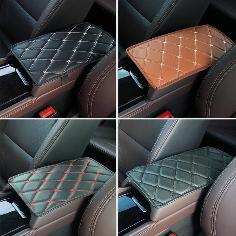 Аксессуары Кожаный Автомобильный подлокотник накладки подушки Интерьер 1 шт. водонепроницаемый универсальный