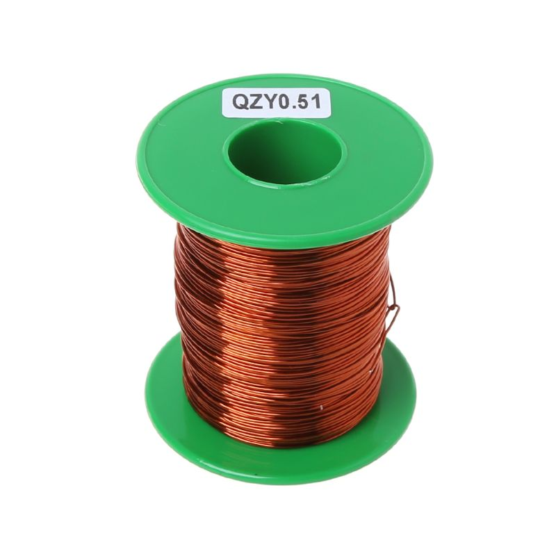 2020 nuevo 100m de alta temperatura poliéster imida esmaltado alambre de cobre 0,51mm QZY-2/180