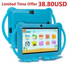 2020 XGODY Kinder Kinder Lernen Bildung Tablet Geschenk Kinder Tablet 7 zoll HD mit Silikon Fall USB ladung Quad Core 1GB 16GB