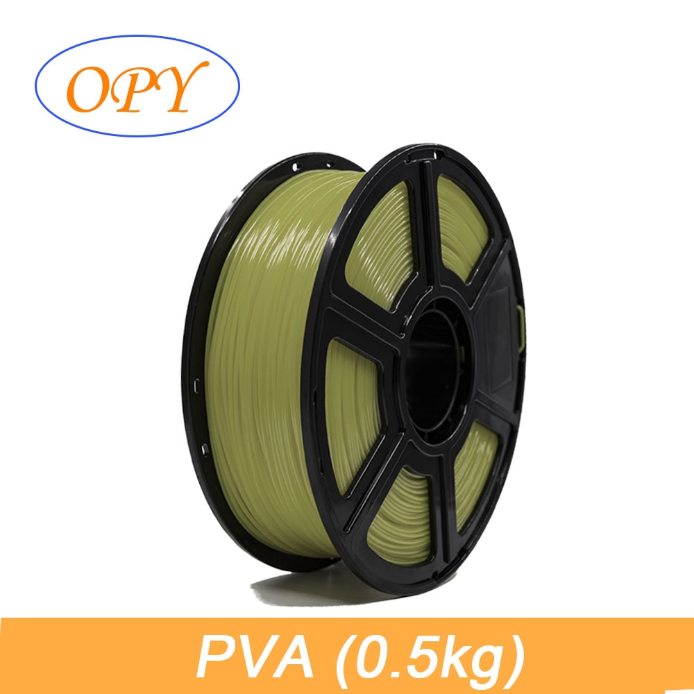 PVA Filament 1.75mm 0.5kg Water Soluble Polyvinyl Alcohol washable printing support material for PLA water soluble pva film laundry detergent pods packing machine water soluble pva