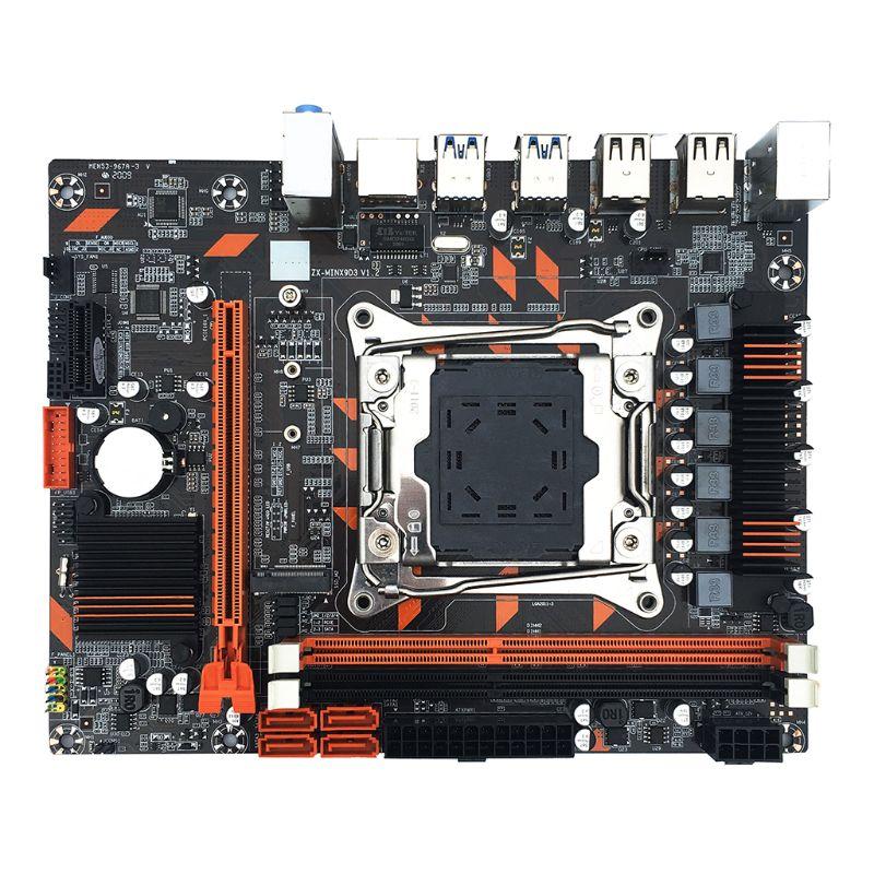 X99 DDR3 البسيطة LGA2011-3 لوحة أم للكمبيوتر المزدوج قناة الذاكرة M.2 واجهة Y3NC