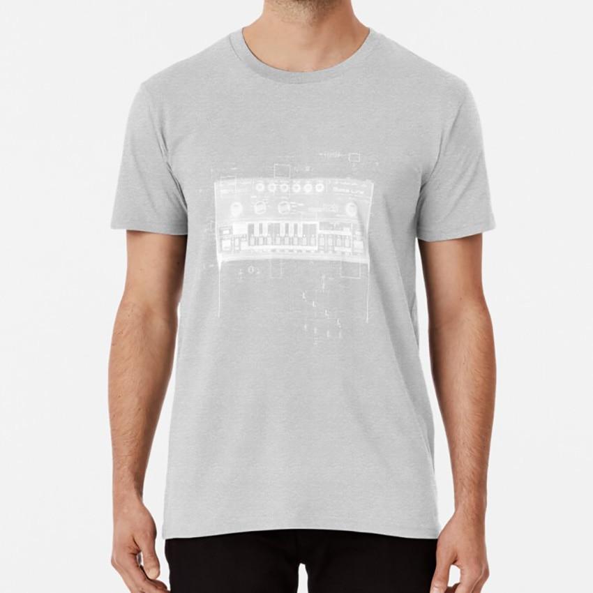 Camiseta Tb 303, máquina de tambor Synth 606 808, 80s Vintage Roland