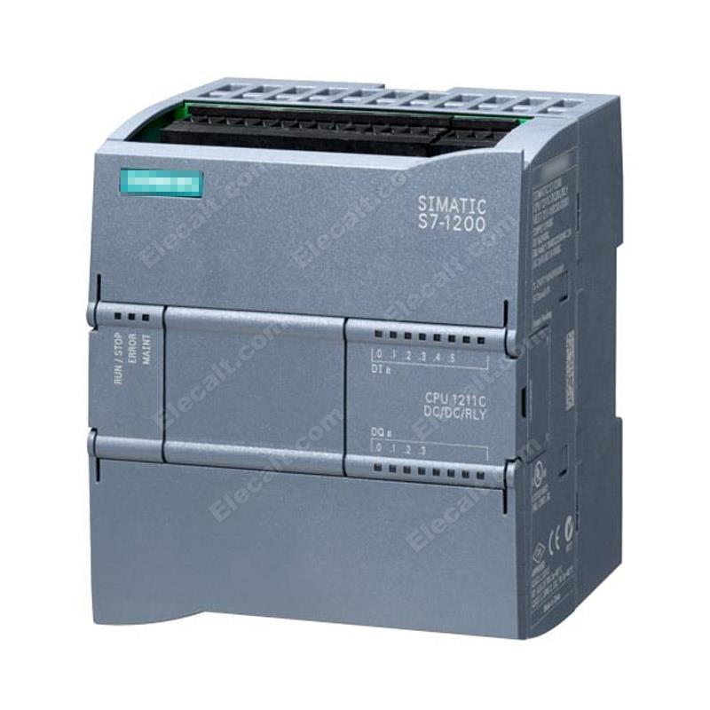6ES7211-1HE40-0XB0 S7-1200 وحدة المعالجة المركزية 1211C الأصلي الجديد 6ES7 211-1HE40-0XB0 تيار مستمر/تيار مستمر/تتابع 6 دي 24 فولت تيار مستمر