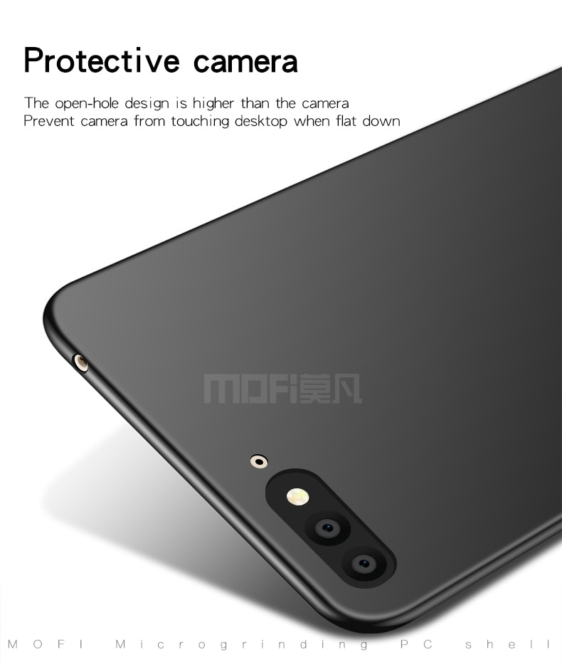 MOFi For Huawei Y6 2018 Cover Case PC Hard Luxury Protection Back Cover For Huawei Y6 2018 Fundas Phone Shell enlarge