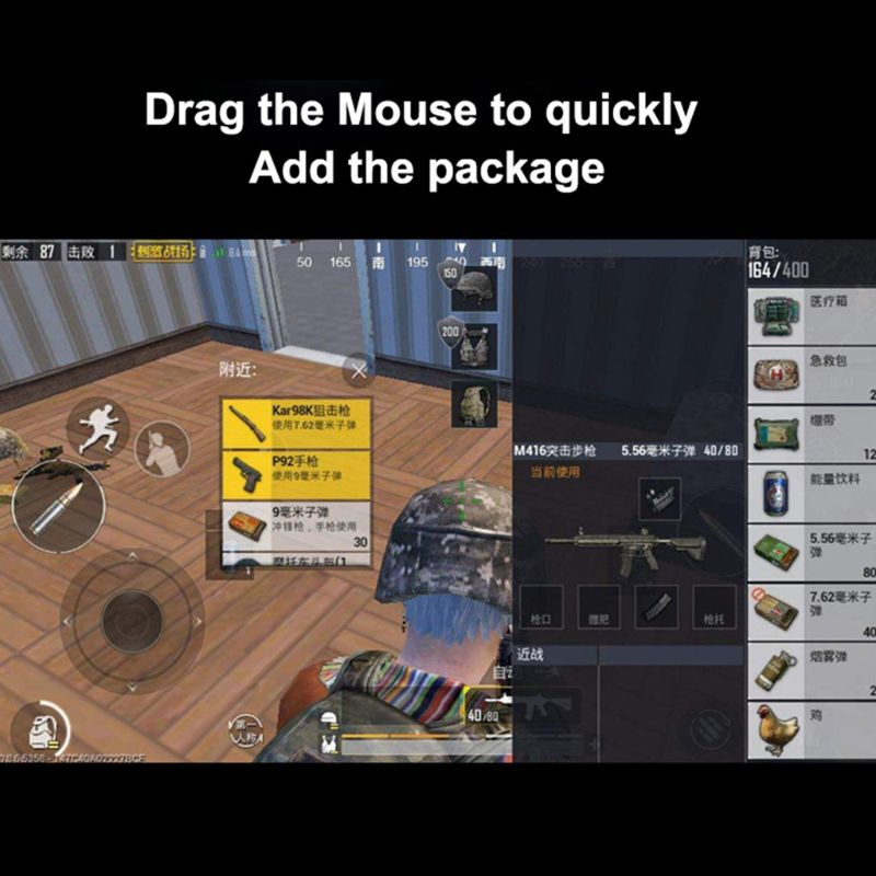 Adaptador portátil do controlador do jogo do conversor do rato do teclado multifuncional axyf