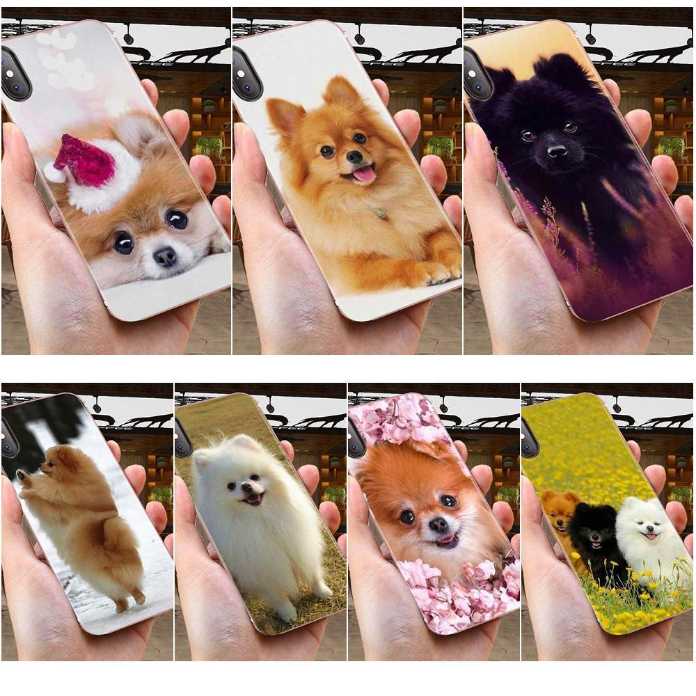 Soft Pattern Phone For Huawei Honor 4C 5A 5C 5X 6 6A 6X 7 7A 7C 7X 8 8C 8S 9 10 10i 20 20i Lite Pro Cute Pomeranian Dog